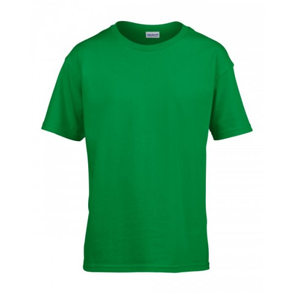 Meat and Potatoes Green Kids shirt