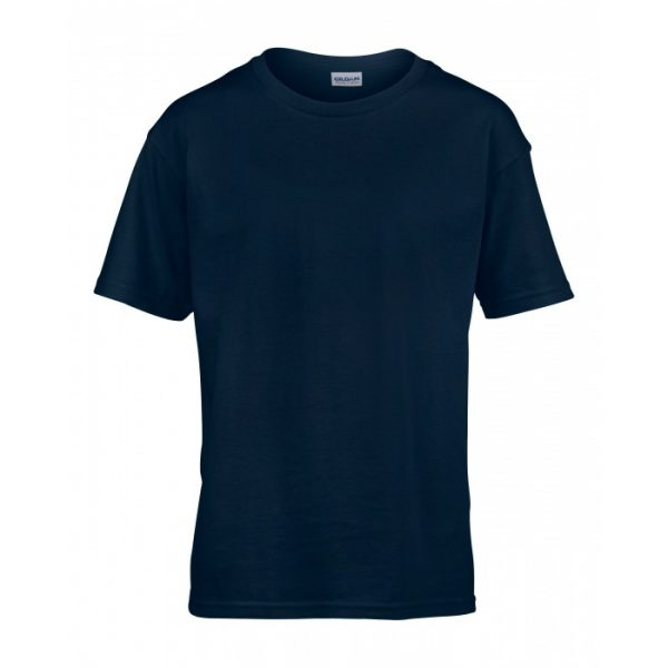 Meat and Potatoes Navy Kids shirt
