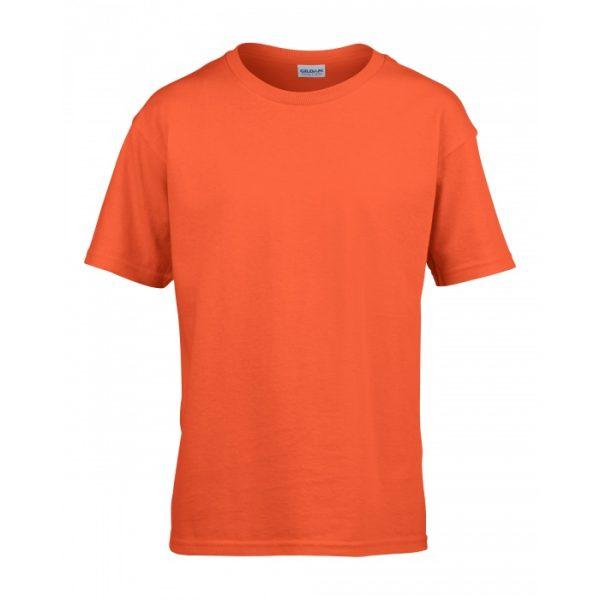 Meat and Potatoes Orange Kids shirt