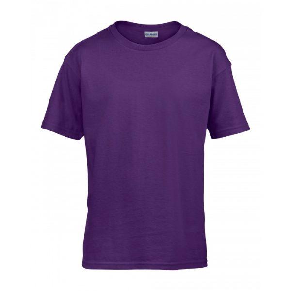 Meat and Potatoes Purple Kids shirt