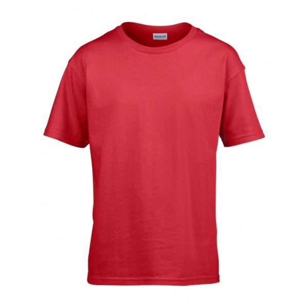 Meat and Potatoes Red Kids shirt